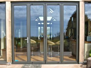 Aluminium Bifold Door Lincolnshire